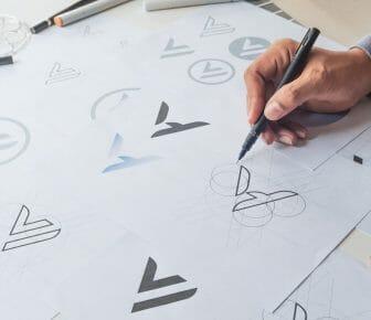 Grafico che disegna logo